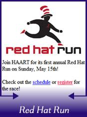 HAART Red Hat Run