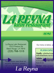 Recent Visit To La Reyna Latin Restaurant